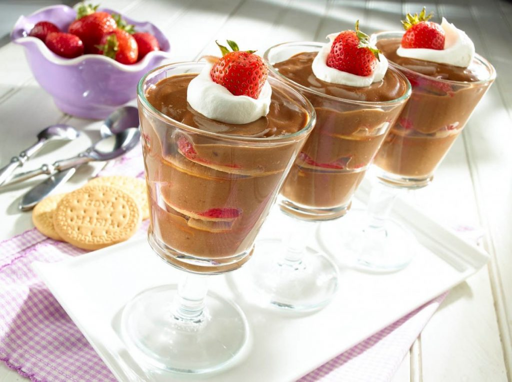 Mousse de galleta María