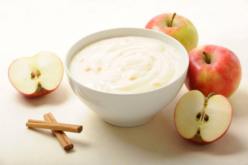 Mousse de manzana en Thermomix