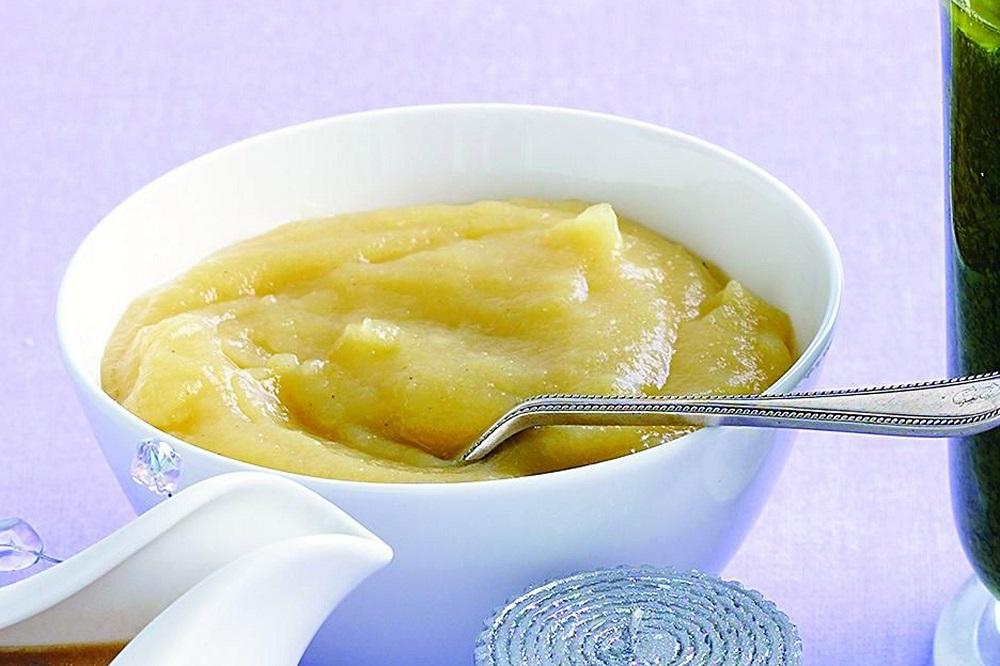 Mousse de manzana light