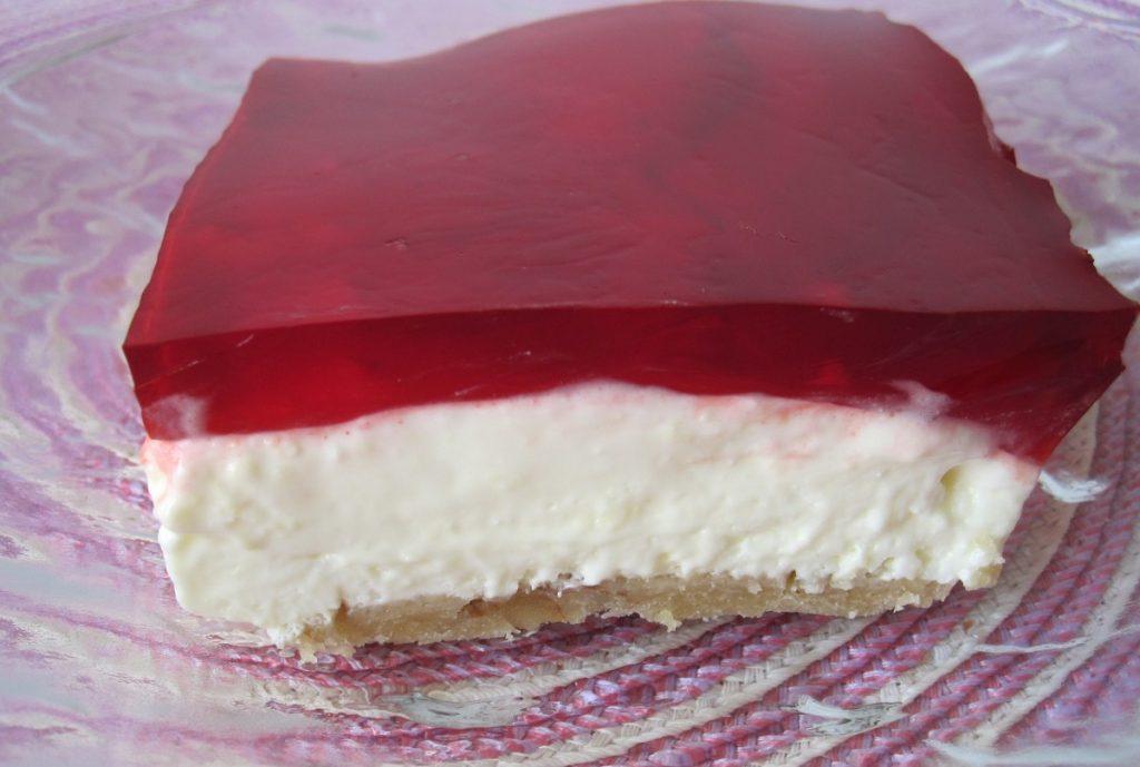 Mousse de queso philadelphia de gelatina