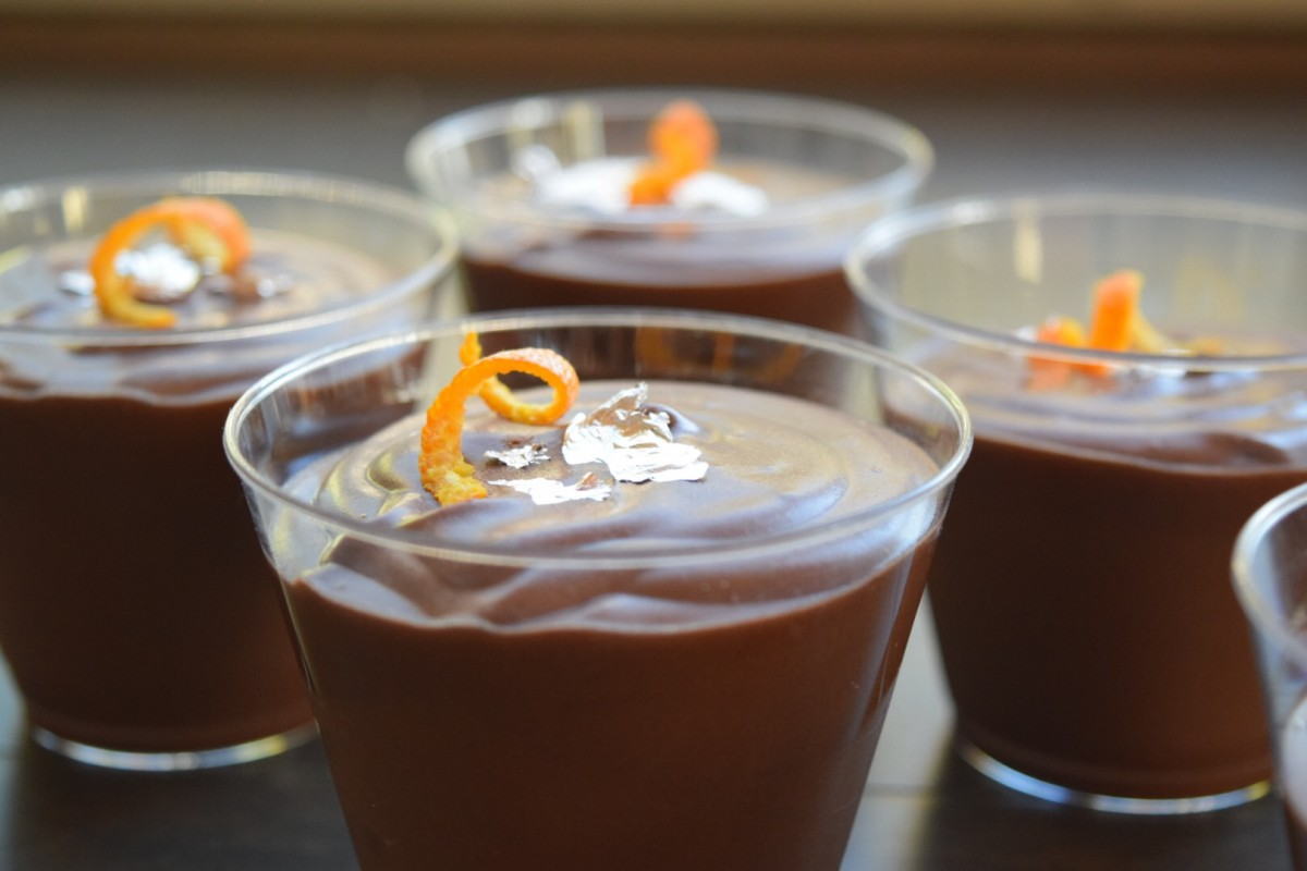 Mousse naranja y chocolate con Thermomix